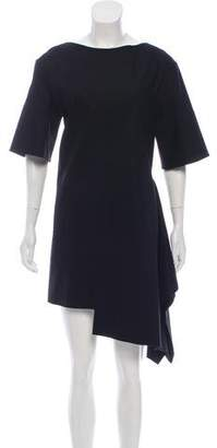 Marni Asymmetrical Mini Dress
