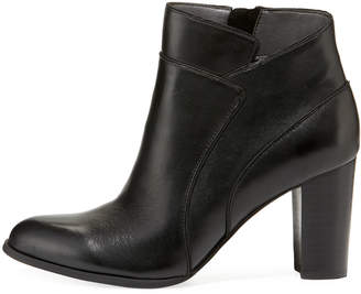 Adrienne Vittadini Tammy Seamed Soft-Leather Bootie