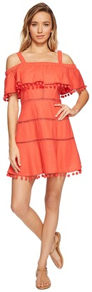 Red Carter - Aster Dress Women's Swimwear $198 thestylecure.com