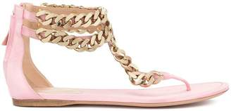 Giambattista Valli chain-detail sandals