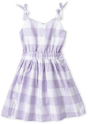 Lucky Brand Toddler Girls) Gingham Tank Dress