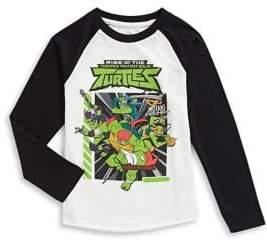 Licensed Tees Little Boy's Kids Graphic Raglan-Sleeve Top