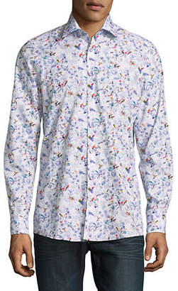 Pure Printed Cotton Sport Shirt