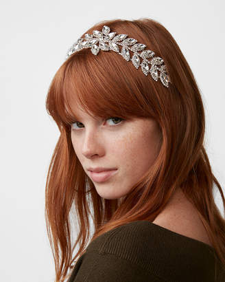 Express Natasha Sparkly Leaves Headband