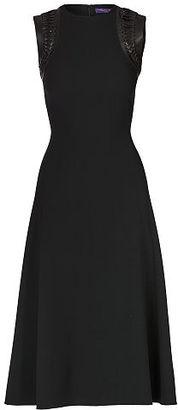 Ralph Lauren Salena Stretch Wool Dress $2,490 thestylecure.com