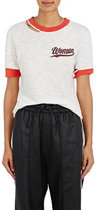 "Off-White c/o Virgil Abloh Women's ""Thanks But No Thanks"" Cotton T-Shirt $295 thestylecure.com"