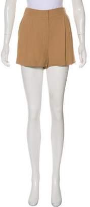 Chloé Pleated Mini Shorts