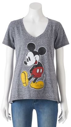 Disney's Mickey Mouse Juniors' Classic Graphic Tee $20 thestylecure.com