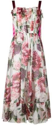 Dolce & Gabbana flared floral dress