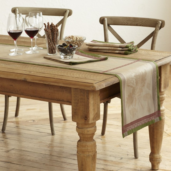 Williams-Sonoma Woodland Forest Jacquard Table Runner