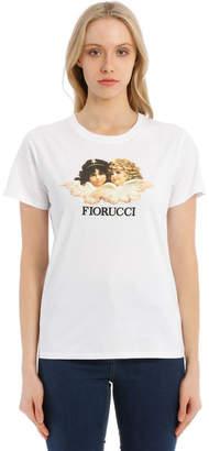 Fiorucci Vintage Angels White T-Shirt