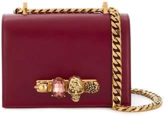 Alexander McQueen embellished crossbody bag