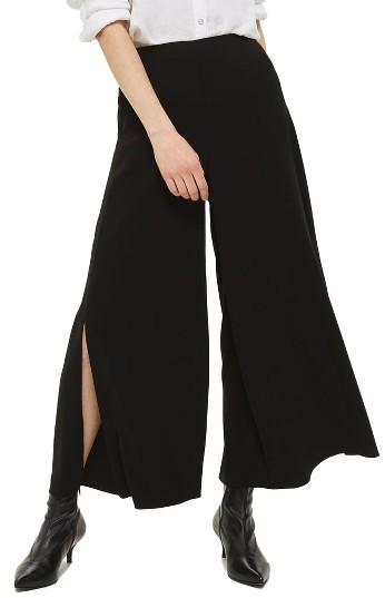 TopshopWomen's Topshop Mia Split Palazzo Trousers