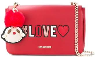 Love Moschino foldover Love shoulder bag