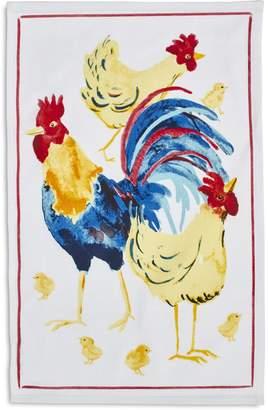 """Sur La Table Rooster Kitchen Towel, 28"""" x 18"""""""