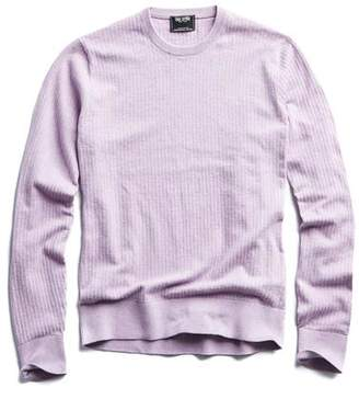Todd Snyder Cotton Crewneck in Purple