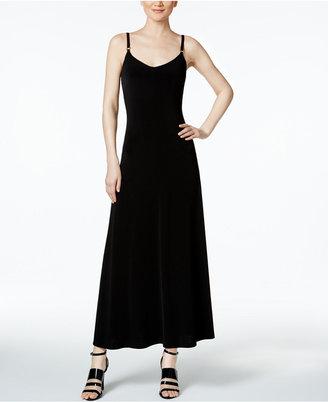 Calvin Klein Ring-Detail Maxi Dress $119 thestylecure.com