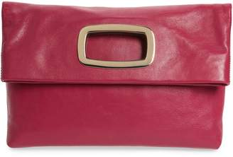 Vince Camuto Large Marti Leather Convertible Clutch
