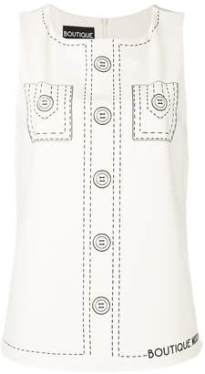 Moschino shirt print blouse