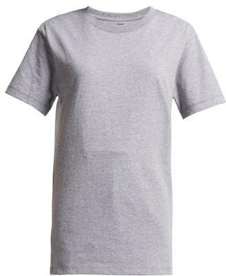 Hanes X Karla - The Classic Cotton Jersey T Shirt - Womens - Grey