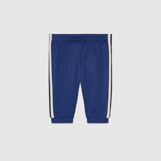 Gucci Baby technical jersey jogging pant
