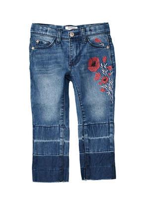 Bebe Girls' Cropped Straight Leg Pant