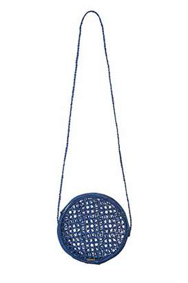 Kaanas unisex-adults BARICHARA Straw Crossbody Circle Bag