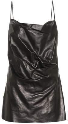 47dfc479cf5 Gucci Leather Dress - ShopStyle