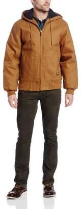 Dickies Men's Big-Tall Rigid Duck Hooded Jacket