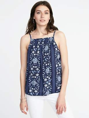 Old Navy Sleeveless Smocked Swing Top for Women