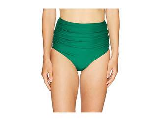 Unique Vintage Georgiana High-Waist Swim Bottoms