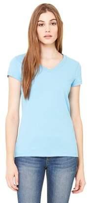 Clementine Apparel Women's Jersey Short-Sleeve V-Neck T-Shirt