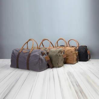 b3abfa3abbd EAZO Waxed Canvas 24 Hour Travel Bag