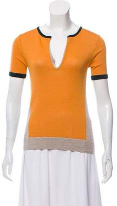 The Row Cashmere Short Sleeve Top w/ Tags