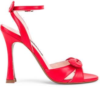 ALEXACHUNG Studio Heel in Lipstick Red | FWRD