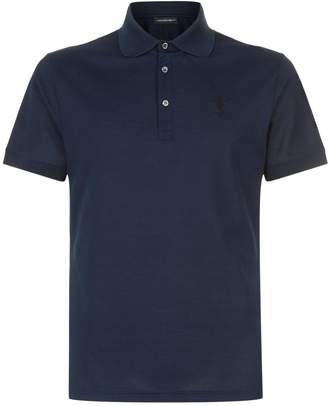 Alexander McQueen Cotton Polo T-Shirt