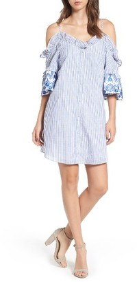 Women's Parker Keegan Cold Shoulder Dress $278 thestylecure.com