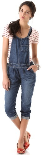 Ag adriano goldschmied Chelsea Crop Overalls
