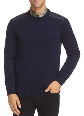 A.P.C. Karlheinz Shoulder Patch Sweater
