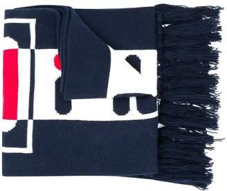Fila logo print scarf