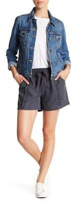 Susina Ruffle Drawstring Shorts (Regular & Petite)