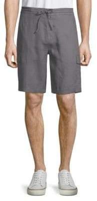 Saks Fifth Avenue Linen Cargo Shorts