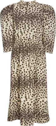 Sea Leo Cotton Corded Dress