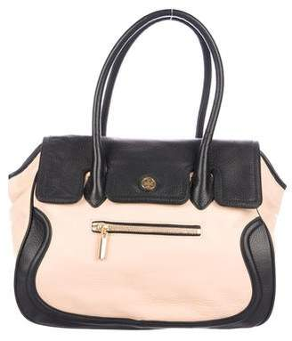 Tory Burch Bicolor Leather Tote