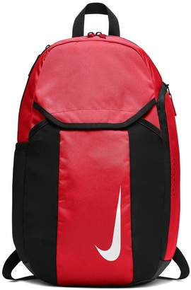 Nike Boys Academy Black Football Backpack - Red