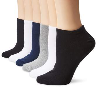 Hot Sox Low-Cut Socks 6-Pack, One Size, Assorted