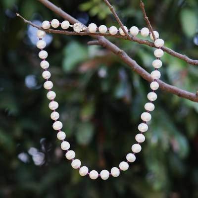 Pure Love Thai Bridal Pearl Strand Necklace