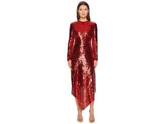 Preen by Thornton Bregazzi Clarissa Sequin Long Sleeve Dress Women's Dress
