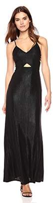 Ali & Jay Women's Sleeveless Cut-Out Long Maxi Gown Dress
