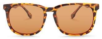 Joe's Jeans Polarized 55mm Squared Sunglasses